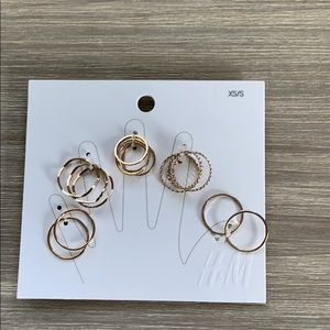 H&M Gold Ring Set